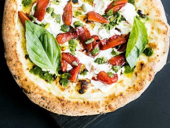 What is the best way to cook pizza at home